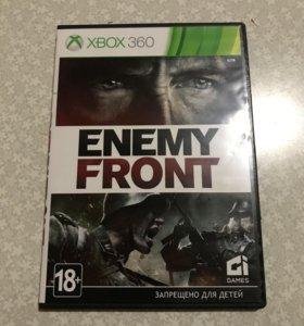 Игры на Xbox Диски на Xbox Enemy Front