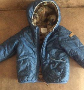Детская курточка на весну Зара на 1-2 года