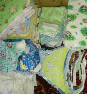 Детские вещи с рождения до трех месяцев