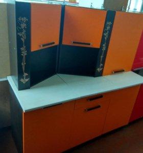 Dolce Vita-31 кухня 1,5 венге/оранжевый б/м