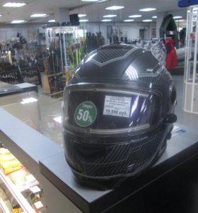 Шлем FXR FUEL MODULAR с эл.визором (L)