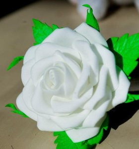 Резиночка роза