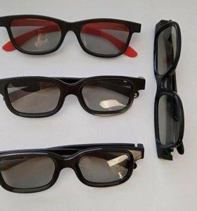 Очки, 3D