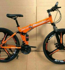 Велосипед раскладной на литье
