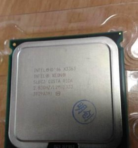 Intel Xeon X3363 Quad Core 2.83GHz 12MB Б/у