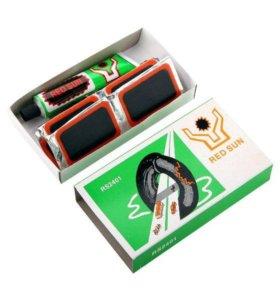 Аптечка для ремонта шин - 24 (латки + клей) 50*35