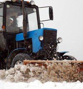Уборка территории/ чистка снега