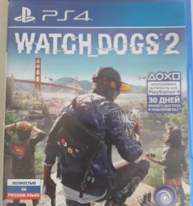 "Игра ,, WATCH DOGS 2 "" на PS4"