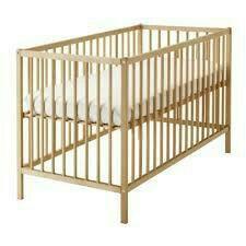 Кроватка IKEA Сниглар с матрасом