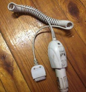 Автомобильное зарядное для Айфон 4