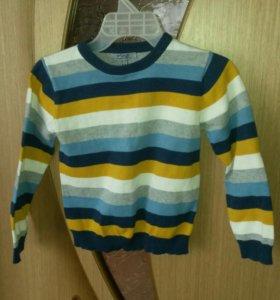 Детский свитер 116р.
