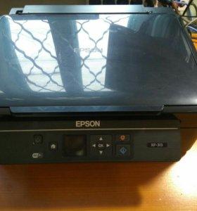 Принтер EPSON XP-313 с ПЗК