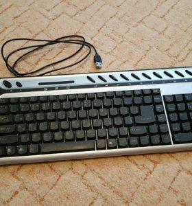 Клавиатура мультимедийная USB 💻🖥 (бесплатно)