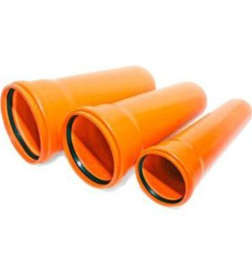 Труба канализационная 160 x 1000 мм Политэк
