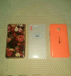 Крышка задняя Lumia 640xl , бампер и стекло