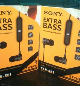 Наушники Sony Bluetooth STH - 861