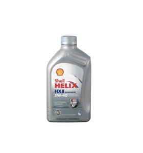 Масло 5W40 Shell Helix HX8 синтет. моторное 1L