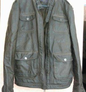 Куртка мужская под кожу 50-52