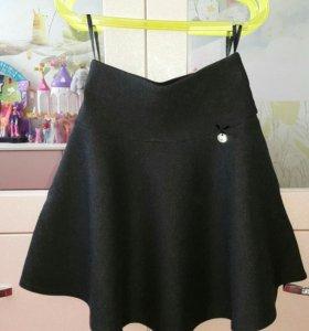Трикотажная юбка Deloras для девочки