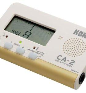 KORG CA-2 цифровой хроматический тюнер