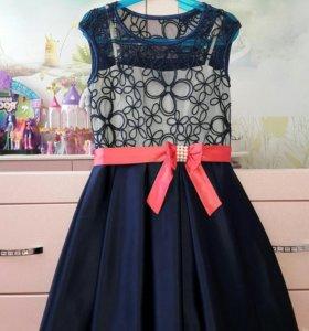 Шелковое платье для девочки