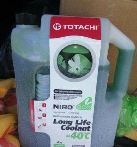 Антифриз Totachi. Зелёный. 4л.