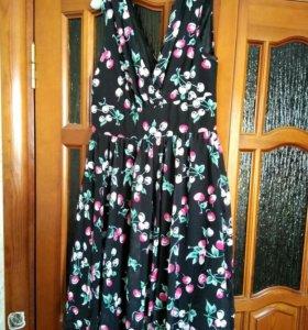 Платье шифоновое новое ш