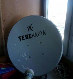 Спутниковое телевидение ТЕЛЕ КАРТА