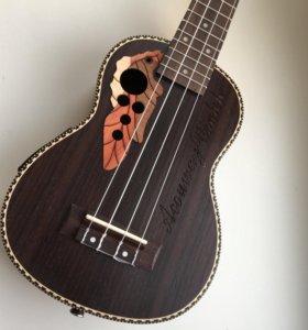 электроакустическая укулеле сопрано (палисандр)