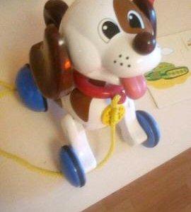 Каталка Веселый щенок