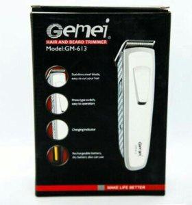 """Машинка для волос """"Gemei"""" gm-613 - Новая"""