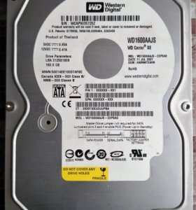 "HDD 3.5"" SATA 160 Gb"