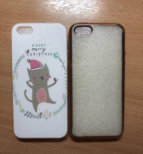 Чехлы на iPhone 5, 5S б/у