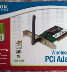 Wireless 108G PCI adapter