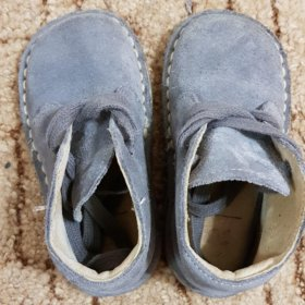 Ботинки весенние. Натуральная замша