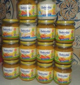 Детское питание пюре Бебивита