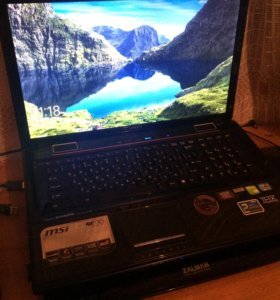 Ноутбук MSI GE70