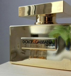 Dolce Gabbana The One Gold Limited Edition