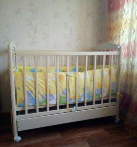 Кроватка в идеальном состоянии