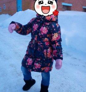 Пальто на девочку  Acoola