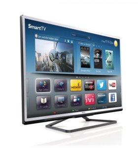 "Philips 46"" 117см, 3D, Smart TV, Wi-Fi"