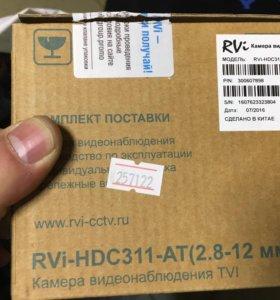 Камера видеонаблюдения TVI