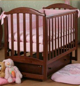 Детская кроватка Жасмин ( Лель)