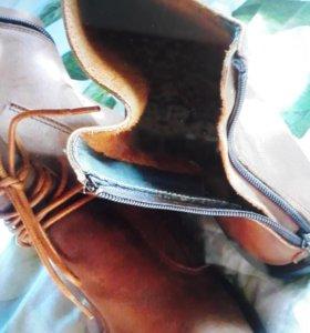 Ботинки новые женские 39размер