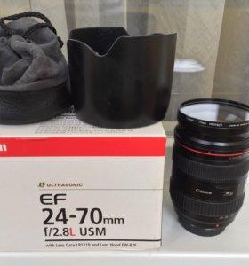 Canon ef 24-70mm 2.8 l