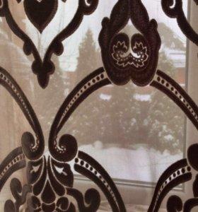 Портьера штора из бархата 370x270