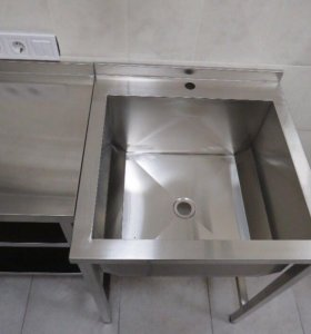 Ванна моечная 630/630мм бу