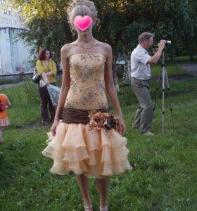Вечернее-коктельное платье