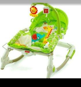 Кресло качалка фишерпрайс до 18кг .