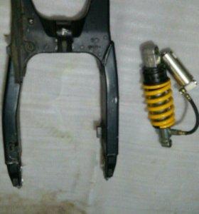 Маятник Honda CBR600F4i. Амортизатор